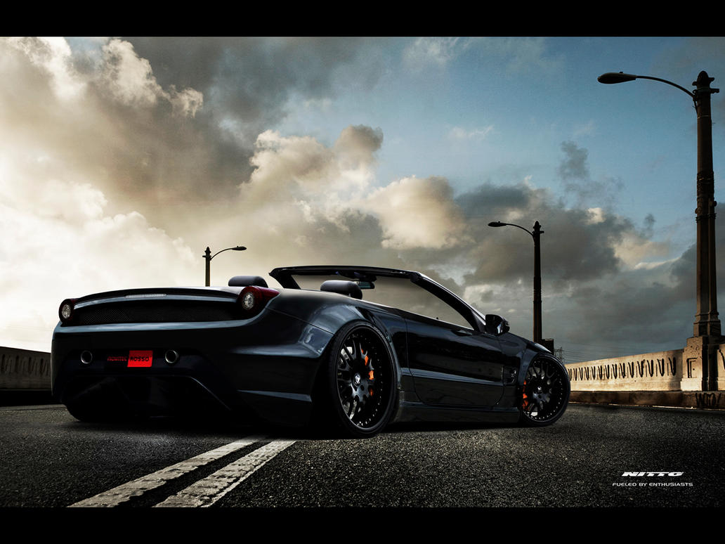 ferrari 458 italia spider by marko0811 on deviantart. Black Bedroom Furniture Sets. Home Design Ideas