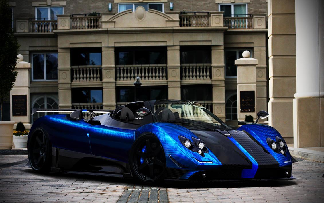 Pagani Zonda Cinque Roadster by Marko0811 on DeviantArt