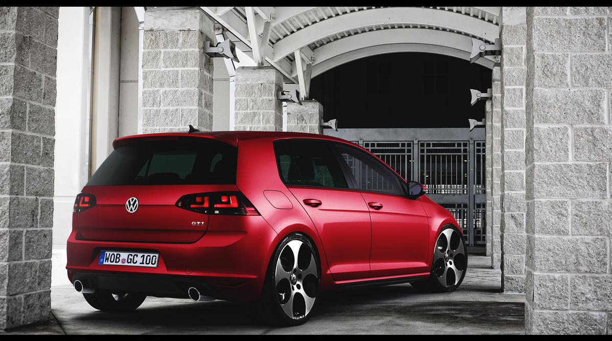 golf 7 gti by marko0811 on deviantart. Black Bedroom Furniture Sets. Home Design Ideas