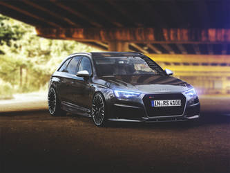 Audi RS4 2016 by Marko0811
