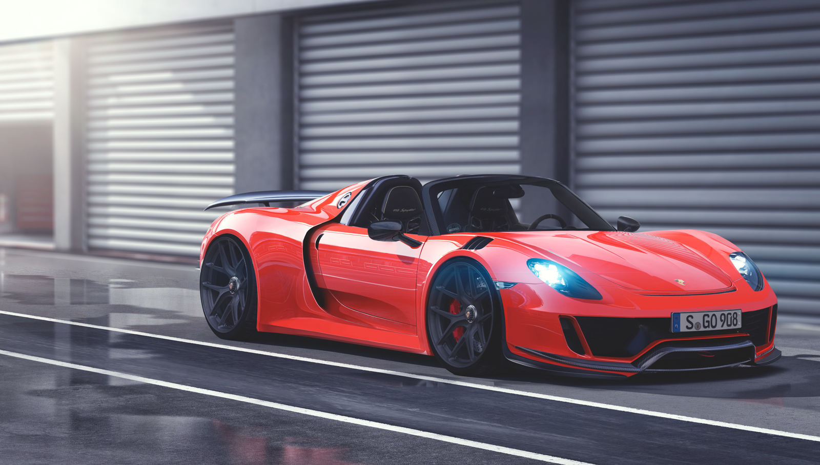 Porsche 918 Spyder 2016 By Marko0811 On Deviantart