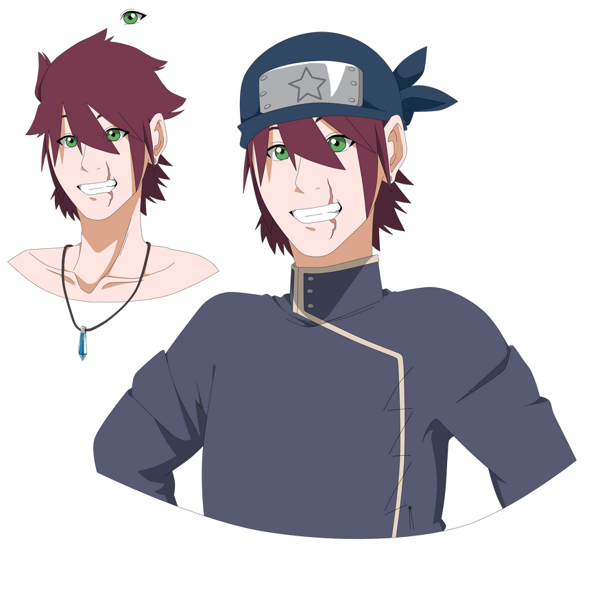 2nd Naruto Main Oc: Oshiro, Kenshi. By K-dera On DeviantArt