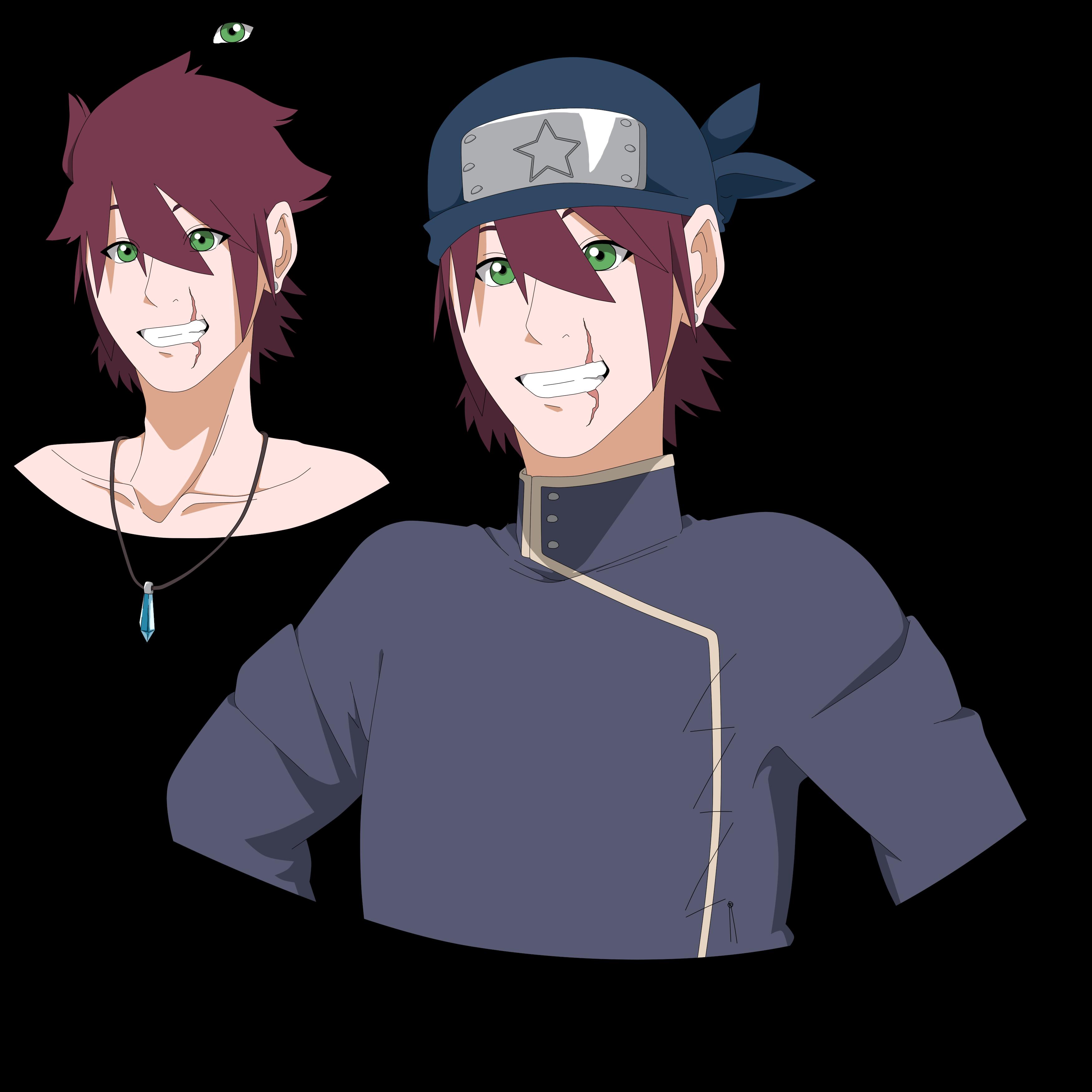 2nd Naruto Main Oc: Oshiro, Kenshi. By Hyacinthoignis On