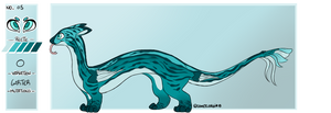 05 - Snek Dragon - GS - Free Adopt by night-pandora