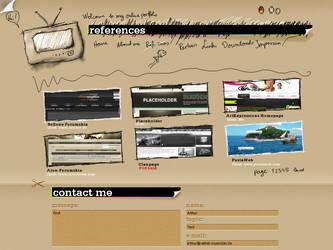 Online Portfolio V1 by Sibusinho