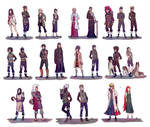 Naruto Shippuden Characters 2