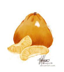 U for Ugli Fruit