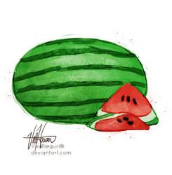 W for Watermelon