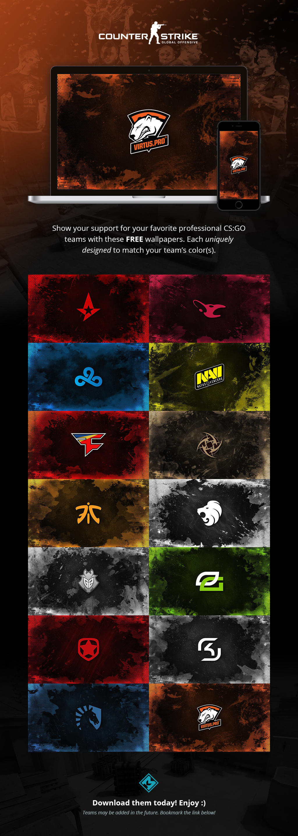 Csgo Team Wallpapers By Defined04 On Deviantart