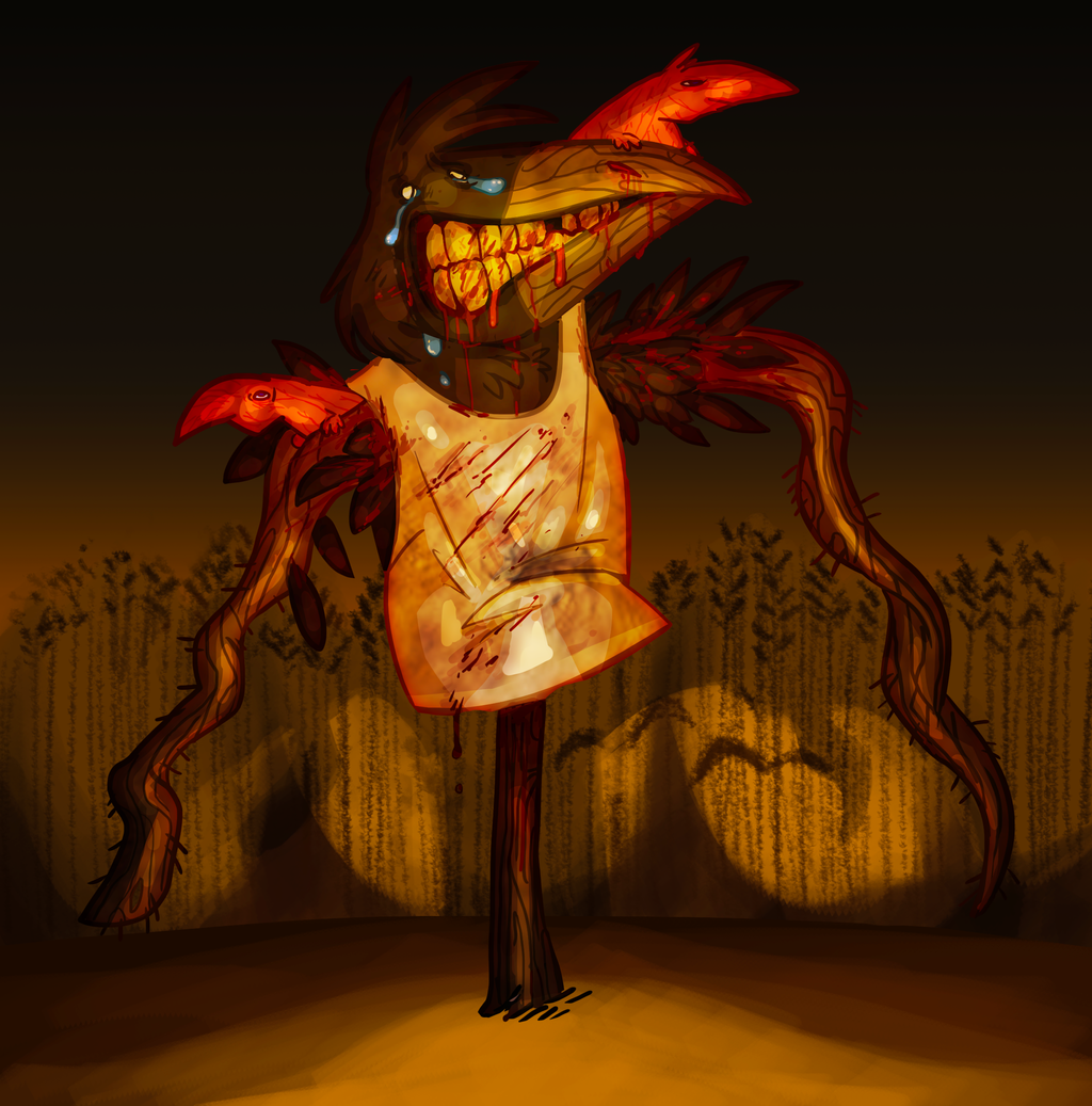 HEADLIGHTS - scarecrow by SSLUM
