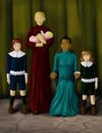 Dumbledore Family Portrait