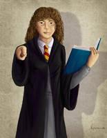 Day 3 - Hermione Granger by hyenacub