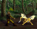 Ambush by hyenacub