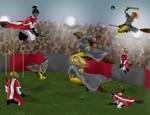 Legendary Rivalry by hyenacub
