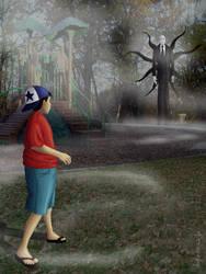 October Dark Art 13 - Slenderman