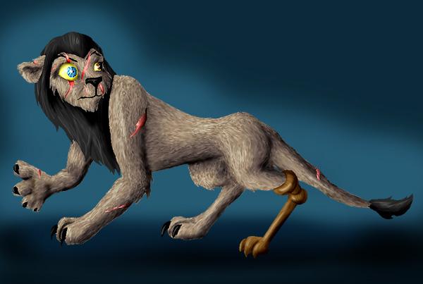 Lion King - Mad-Eye Moody by hyenacub on DeviantArt
