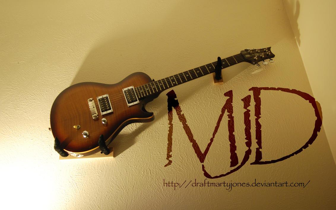 Wall Hanging Guitar By Draftmartyjones On Deviantart
