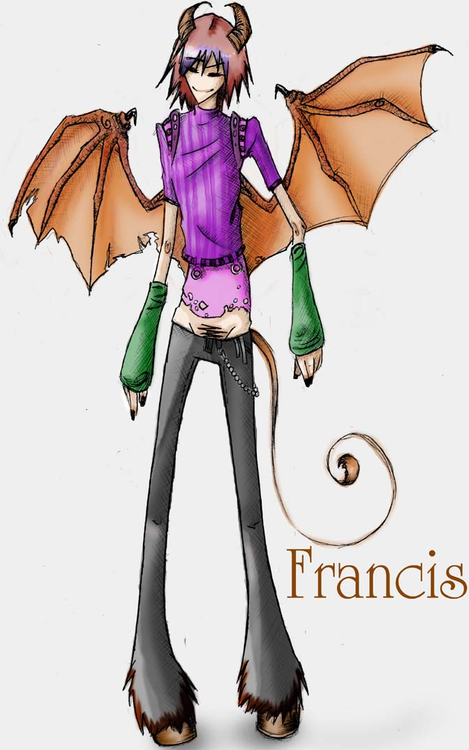 francis. by toffee-owl