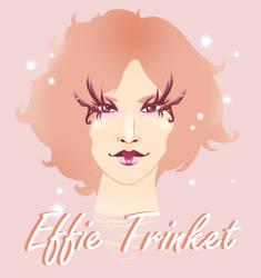 Effie Trinket by toffee-owl