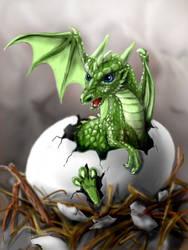 Dragon Egg by Degilwen