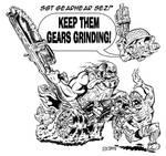 Gears of War 3 BA piece