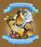 Krogan Grandpa by The-Itchy-Bird