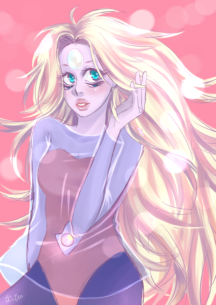 Doodle of Rainbow Quartz from Steven Universe! I only have doodles to upload, sorry QuQ)