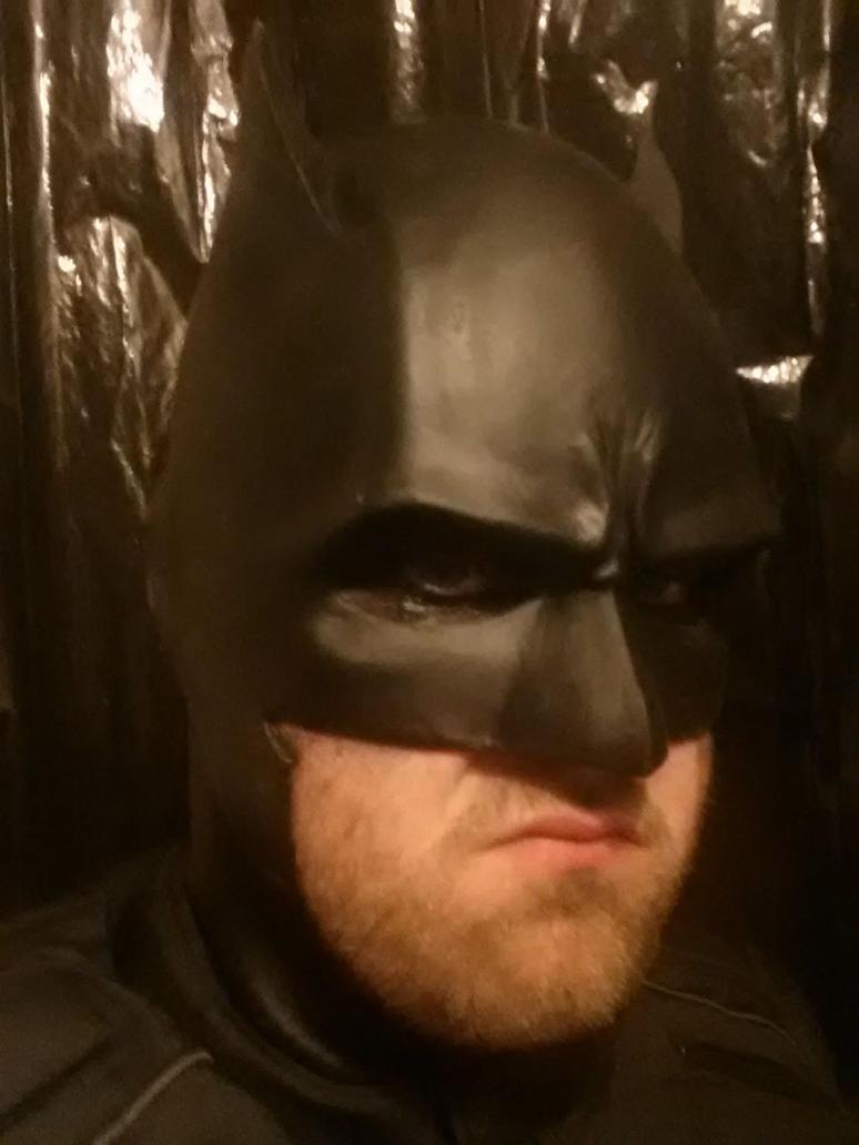 Batman Cowl shot by ZeroCount