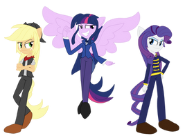 Eqg Three Villains by geraritydevillefort