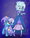 dressed up Trixie