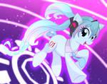Miku Pony by geraritydevillefort