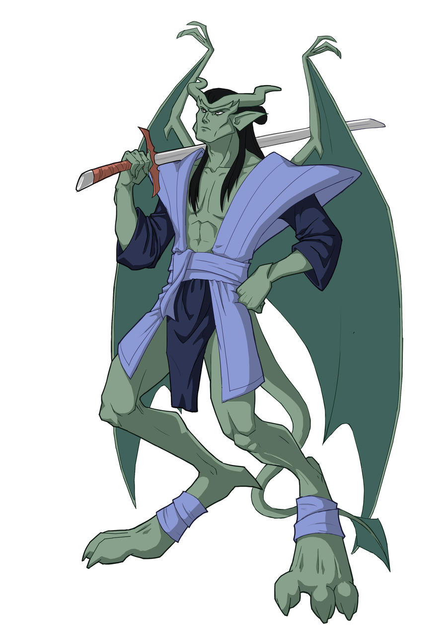 Gargoyles  Kai by Anhel1310Gargoyles Disney Characters