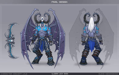 Ilidan Lich concept by Anhel1310