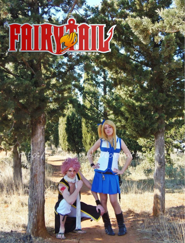 Fairy Tail - Natsu and Lucy by onlycyn