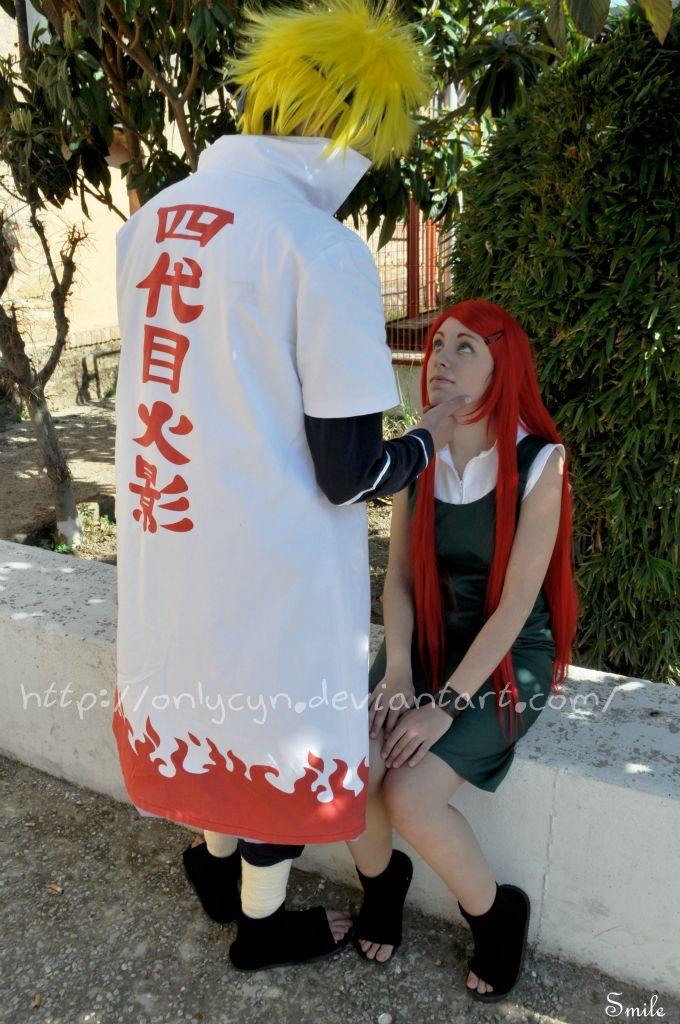 Minato and Kushina by onlycyn