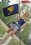 Lucy Heartfilia cosplay - Daimatou Enbu