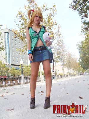 Lucy Heartfilia cosplay by onlycyn