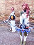 Lightning and Serah FFXIII-2 cosplay I