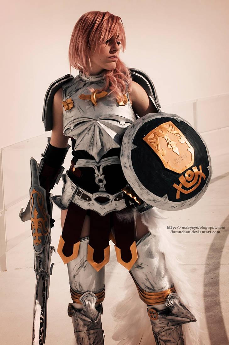 Lightning FFXIII-2 armor cosplay II by onlycyn