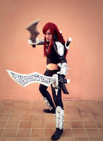 Katarina cosplay - League of Legends by onlycyn