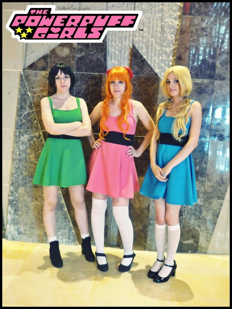girls The cosplay powerpuff