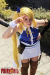 Lucy Heartfilia timeskip - Fairy Tail cosplay by onlycyn