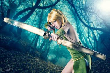 Lucy Heartfilia Sagittarius - Fairy Tail cosplay by onlycyn