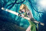 Lucy Heartfilia Sagittarius - Fairy Tail cosplay