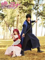 Akatsuki no Yona cosplay - Hak and Yona by onlycyn