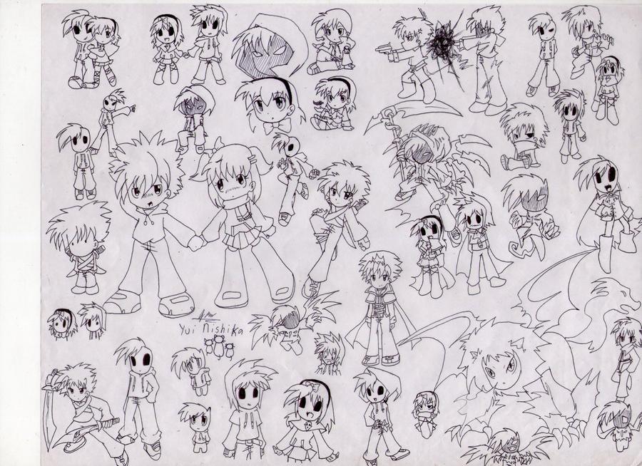 CHARACTER'S POOL by nishikayui