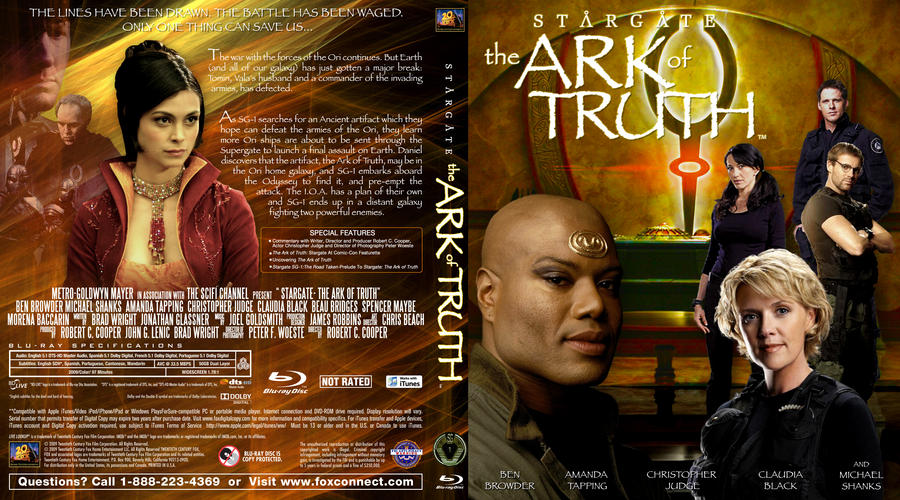 Stargate:The Ark of Truth by imacmaniac