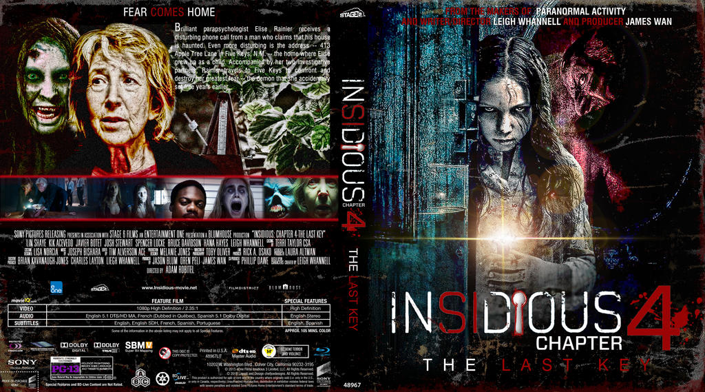 Insidious Chapter 4 The Last Key By Imacmaniac On Deviantart