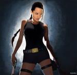 Tomb Raider-MS Paint
