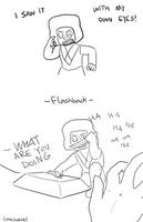 101 Ways Pink Diamond Could've Been Shattered: 021 by LittleSnaketail